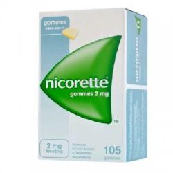 Nicorette 105 gommes 2mg