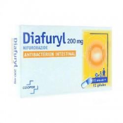 Diafuryl 200mg 12 gélules