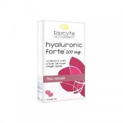 Biocyte hyaluronic forte 200 mg hydratant repulpant 30 comprimés