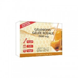 Granions gelée royale 1500 mg 15 sticks