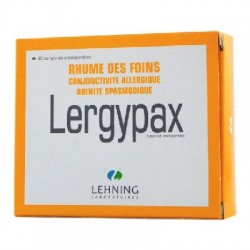 Lergypax comprimé orodispersible 40 comprimés