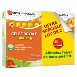 Forté pharma gelée royale 1000 mg 2 x 20 ampoules
