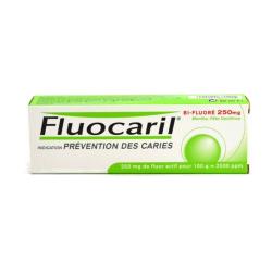 Fluocaril bi-fluore 250mg menthe pâte dentifrice 62,5g