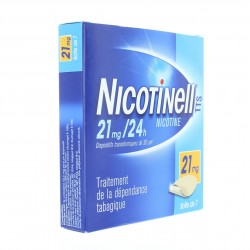 Nicotinell tts 21 mg/24 h, dispositif transdermique 7 patchs