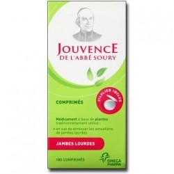 Jouvence de l'abbé soury 180 comprimés pelliculés avec pilulier journalier