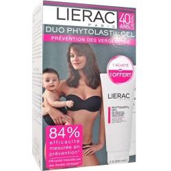 Lierac phytolastil gel prévention des vergetures lot de 2 x 200 ml