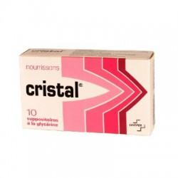 Cristal 10 suppositoires bébé