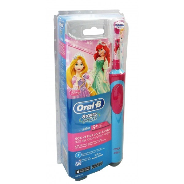 oral b brosse a dents electrique stage power enfant 3 ans et plus pharmacie cap3000. Black Bedroom Furniture Sets. Home Design Ideas