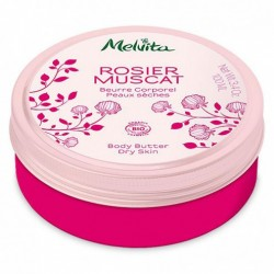 Melvita beurre corporel rosier muscat 100ml