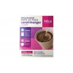Milical lcd milk-shake chocolat 4 sachets