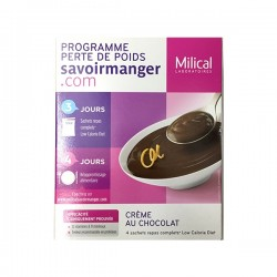 Milical lcd crème chocolat 4 sachets