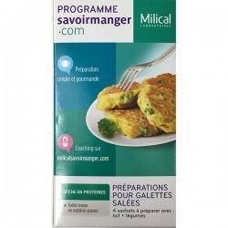 Milical lcd préparation galettes saléées 4 sachets