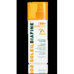 Soleil biafine lait enfant spray solaire tres haute protection spf 50+ 200 ml