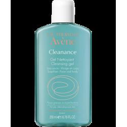 Avène cleanance gel nettoyant purifiant 200ml+50% offert