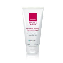 Papulex moussant gel nettoyant sans savon 150ml