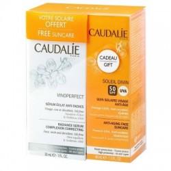 Caudalie vinoperfect sérum eclat anti-taches 30ml +1 crème solaire 50+ 40ml offerte