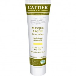 Cattier masque argile jaune 100ml