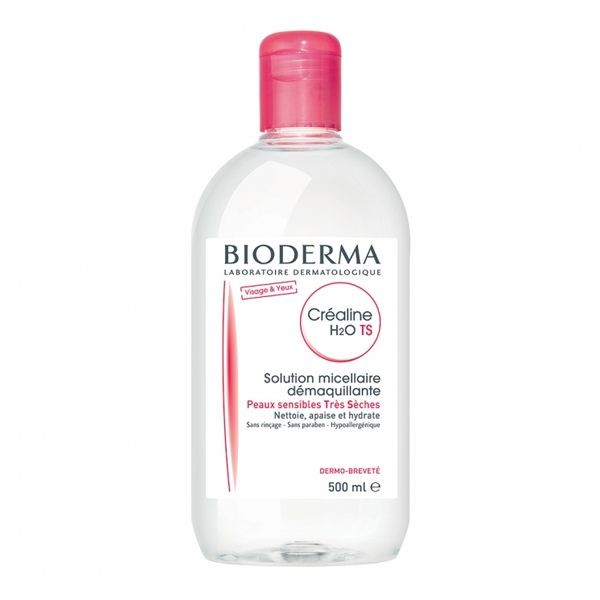 Bioderma créaline TS H2O solution micellaire 500ml