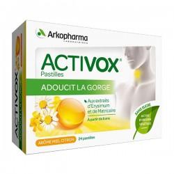 Activox pastilles blister 3x8 miel citron