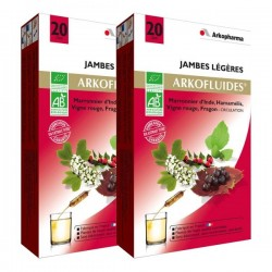 Arkopharma arkofluide circulation jambe légère 2 x 20 ampoules