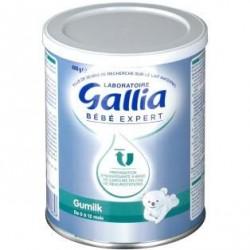 Gallia bébé expert gumilk lait en poudre anti-régurgitations 400g