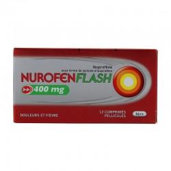 Nurofenflash 400mg 12 comprimés pélliculés