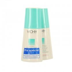 Vichy déodorant utra frais 24h parfum fruité duo spray 2 x 100ml