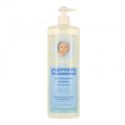 Klorane bébé eau nettoyante micellaire sans rinçage 750ml