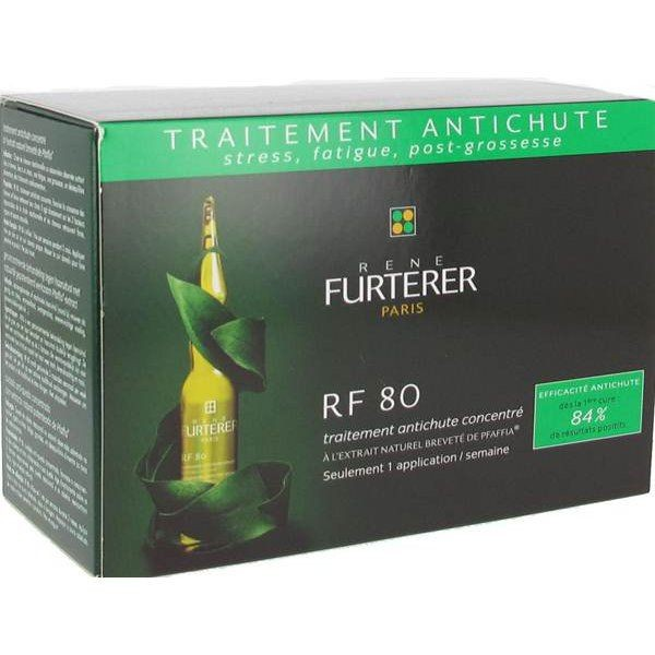 rene furterer traitement anti chute concentr rf80 12 ampoules pharmacie cap3000. Black Bedroom Furniture Sets. Home Design Ideas