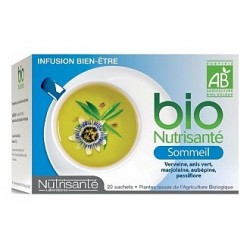 Nutrisanté infusion bio sommeil 20 sachets