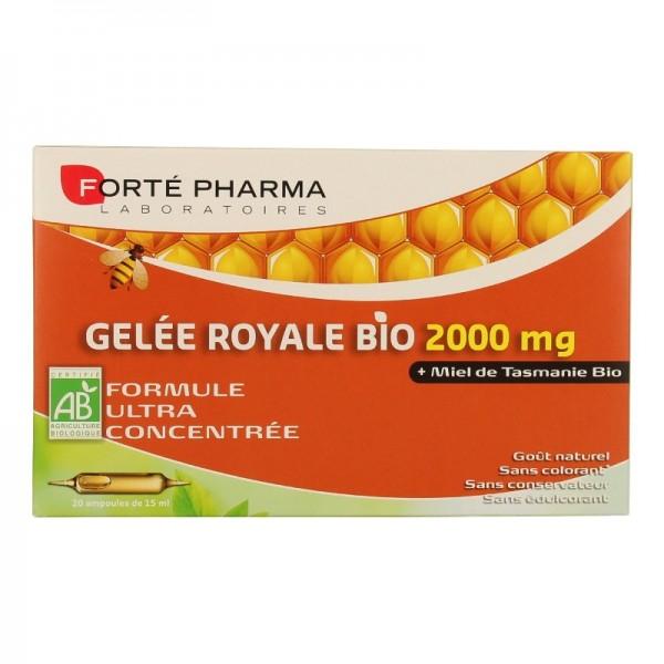 Forté pharma gelée royale 2000mg 20 ampoules