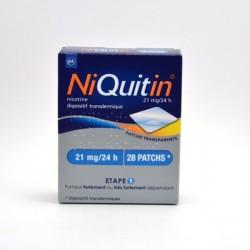 Niquitin 21mg/24h disp tr sach/7