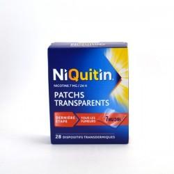 Niquitin 7mg/24h dispositif transdermique 7 sachets