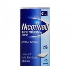 Nicotinell 4mg menthe fraîche 96 gommes à mâcher