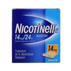 Nicotinell tts 14mg/24h dispositif transdermique 28 patchs