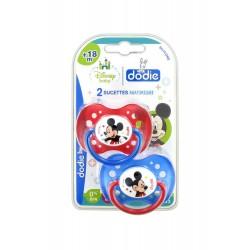 Dodie Disney Baby 2 Sucettes Anatomiques Silicone 18 Mois et +