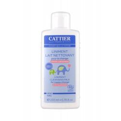 Cattier Bébé Liniment Lait Nettoyant 200 ml