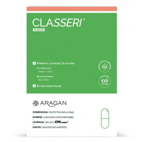 Aragan Classeri 20 gélules - Pharmacie Cap3000