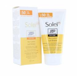 BOOTS SOL SPF50 LAIT 150ML 2015