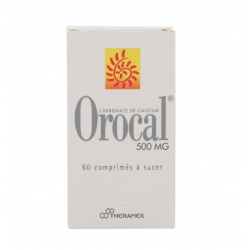 Orocal 500mg 60 comprimés