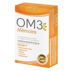 Isodisnatura om3 mémoire 15 capsules + 15 gélules