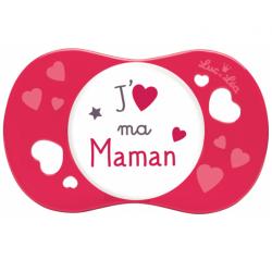 Luc et Léa Sucette plus de 18 Mois J'Aime Ma Maman