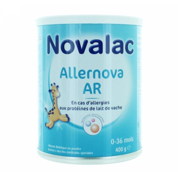 novalac allernova lait 0 36 mois 400g pharmacie cap3000. Black Bedroom Furniture Sets. Home Design Ideas