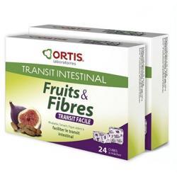Ortis fruis et fibres duo 24 cubes