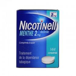 Nicotinell menthe 2mg 144 comprimés à sucer