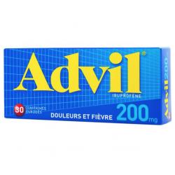 Advil 30 comprimés enrobés 200 mg