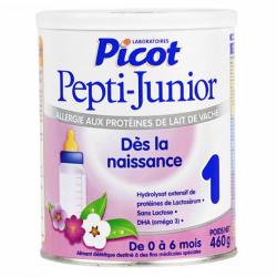 Picot pepti junior lait allergie 1er âge 460g