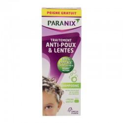 Paranix shampooing anti-poux 200ml + peigne