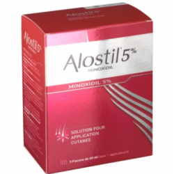 Alostil 5% solution pour application cutanée 3x60ml