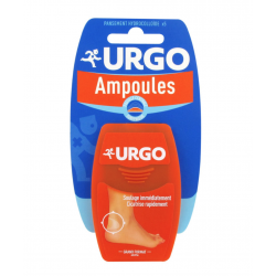 Urgo ampoule pansement seconde peau talon x 5
